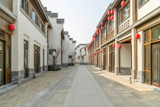Calle típica del pueblo