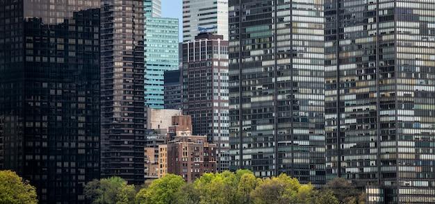 Calles de manhattan, ciudad de nueva york