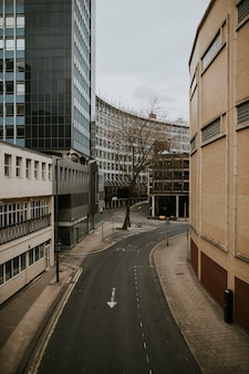 Calles vacías durante la pandemia de coronavirus