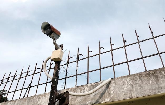 Cámara de seguridad cctv al aire libre