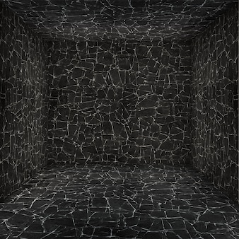Cámara de vacío con las paredes texturadas