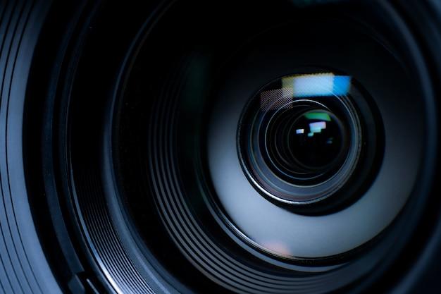 Cámara de video nivel de película.