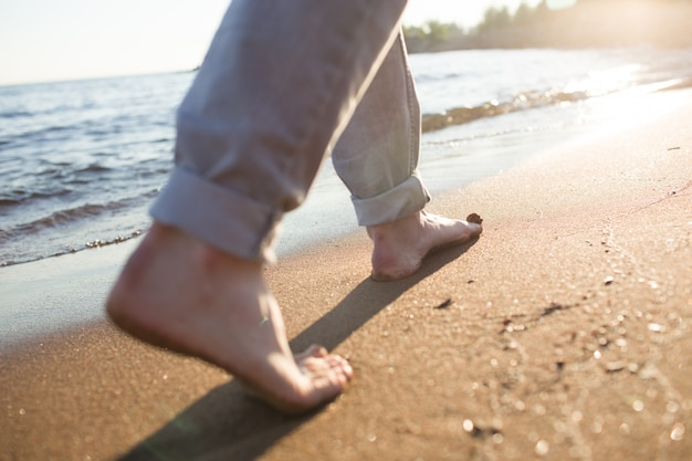 Caminar por orilla