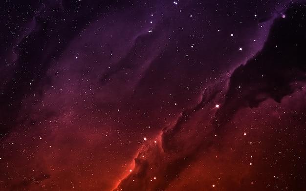Campo estelar en el espacio profundo a muchos años luz de la tierra. elementos de esta imagen proporcionada por la nasa