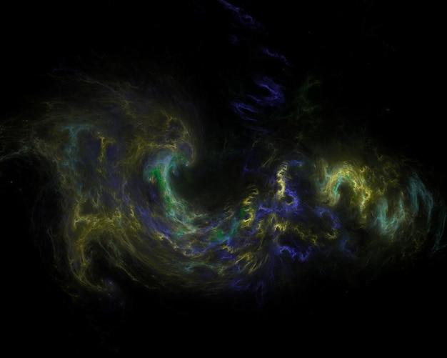 Campo de estrellas de fondo. galaxia espacial estrellada
