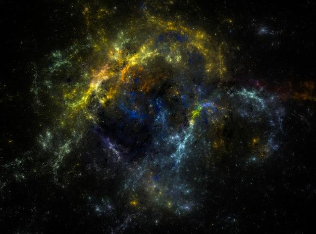 Campo de estrellas de fondo. textura de fondo del espacio exterior estrellado.