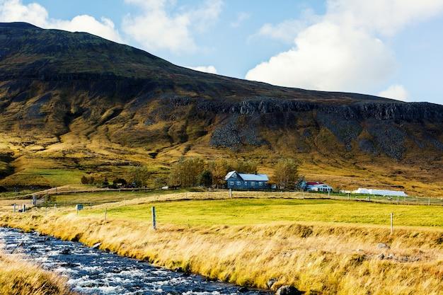 Campo, en, islandia