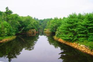 Canal artificial, la reparación
