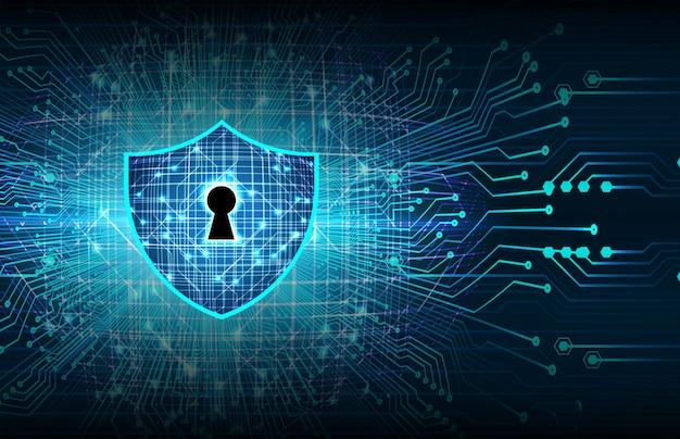 Candado cerrado sobre fondo digital, seguridad cibernética.