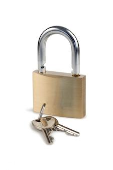 Candado y llaves