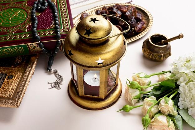 Candelero árabe de alta vista