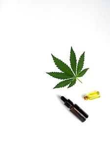 Cannabinol cbd, molécula de cannabis.