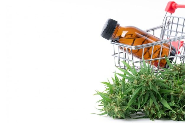 Cannabis con extracto de cannabidiol aislado