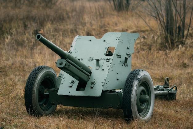 Cañón antitanque soviético 53-k