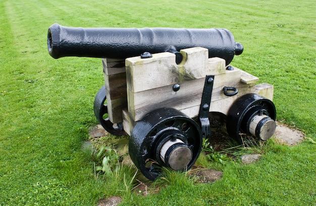 Cañón tradicional, aproximadamente 200 años. útil para conceptos.
