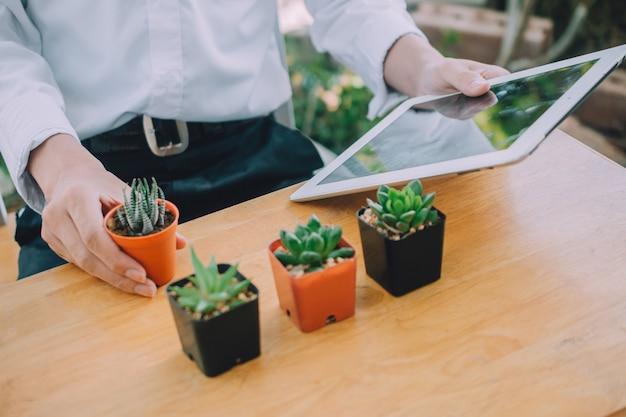 Capacitación en línea de v logger para la plantación de cactus y la jardinería doméstica