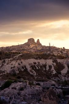 Capadocia montaña turquía