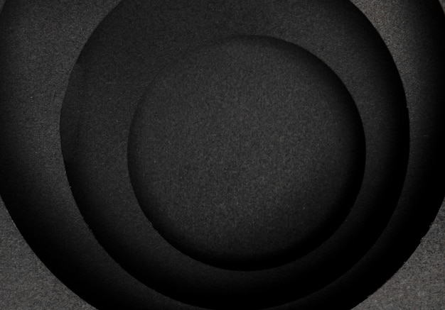 Capas circulares de fondo oscuro