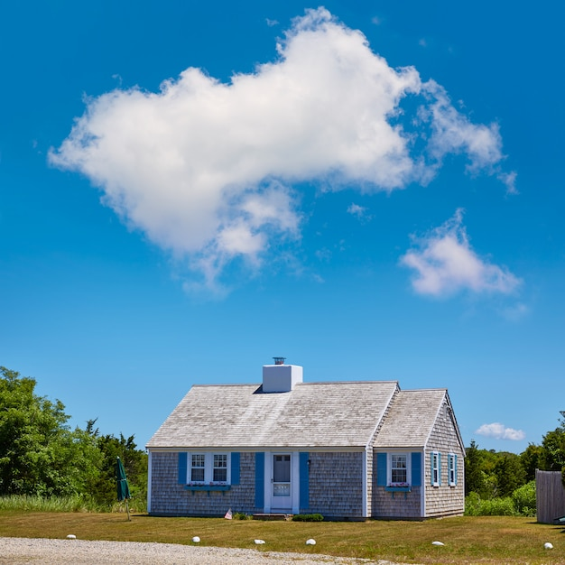 Cape cod alberga la arquitectura de massachusetts, ee.uu.
