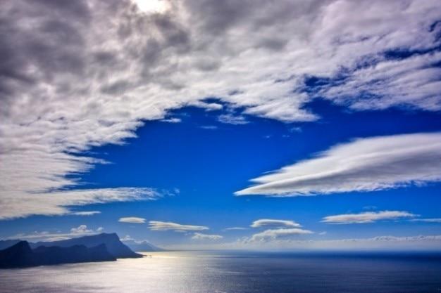 Cape point paisaje hdr