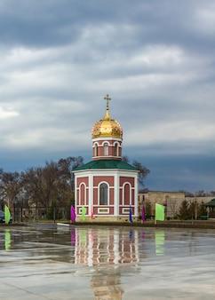 Capilla de la iglesia alexander nevsky en bender, transnistria