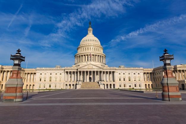 Capitolio edificio washington dc fachada este de estados unidos