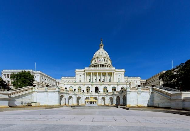 Capitolio de los estados unidos cúpula de washington dc.