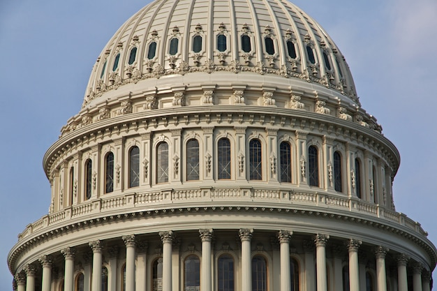 Capitolio en washington, estados unidos