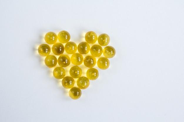 Cápsulas de aceite de pescado con omega