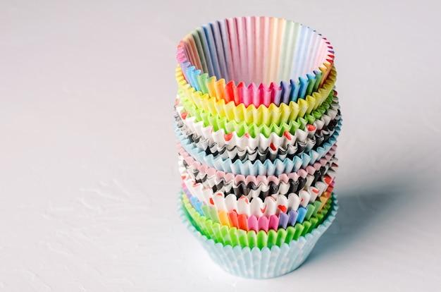 Cápsulas de papel para capcake.