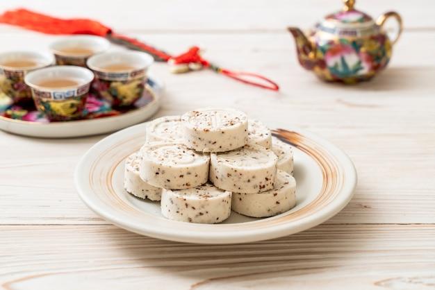 Caramelo chino hecho de harina de arroz