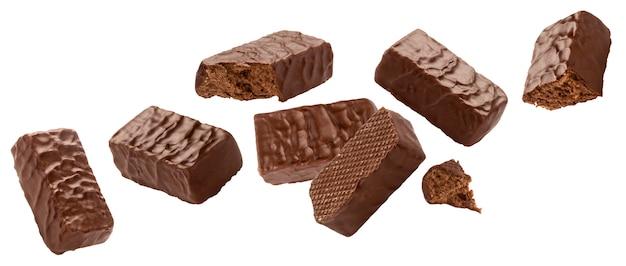 Caramelos cubiertos de chocolate