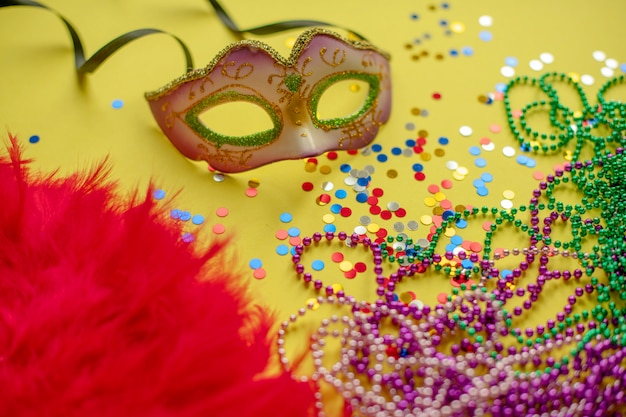 Carnaval. mardi gras. carnaval brasileño primavera