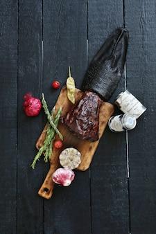 Carne asada con especias