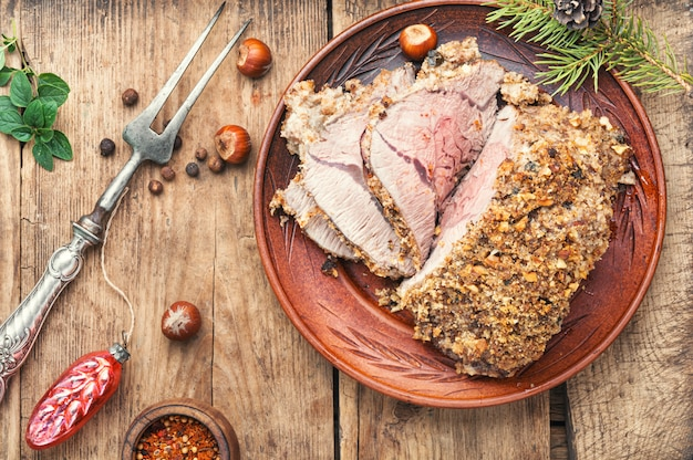 Carne asada para navidad