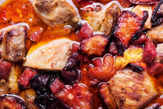 Carne de estofado de ternera