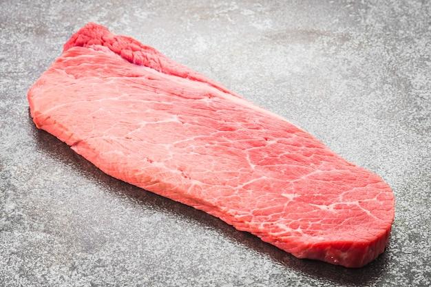 Carne de res cruda