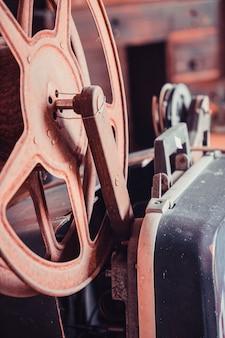 Carrete de película vintage