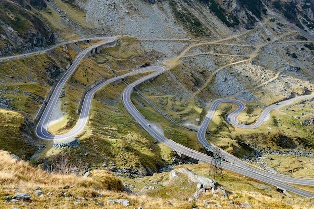 Carretera de montaña transfagarasan