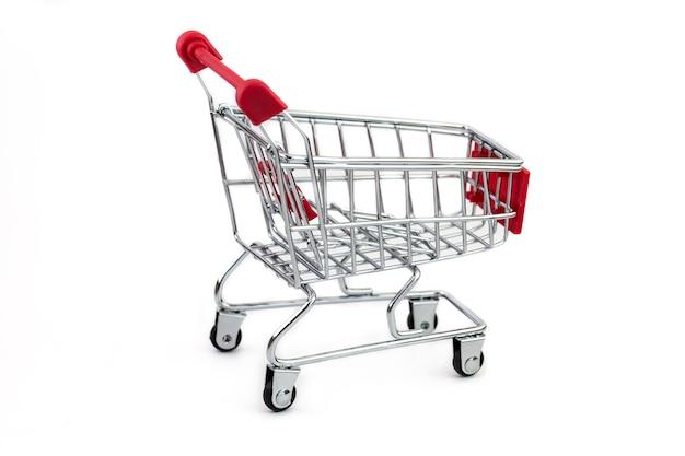 Carro de compras aislado