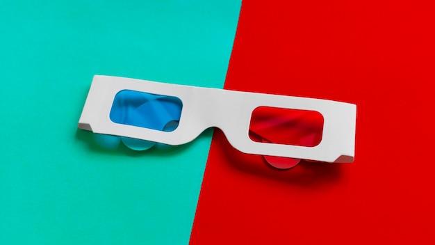 Cartón 3d gafas