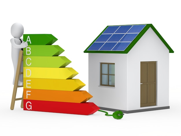 Casa con certificado energético