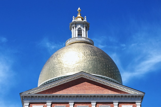 Casa del estado de massachusetts en boston, estados unidos de américa