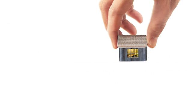 Casa estructura residencial en mano
