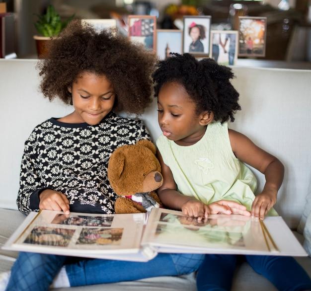 Casa de la familia de ascendencia africana casa de descanso vida