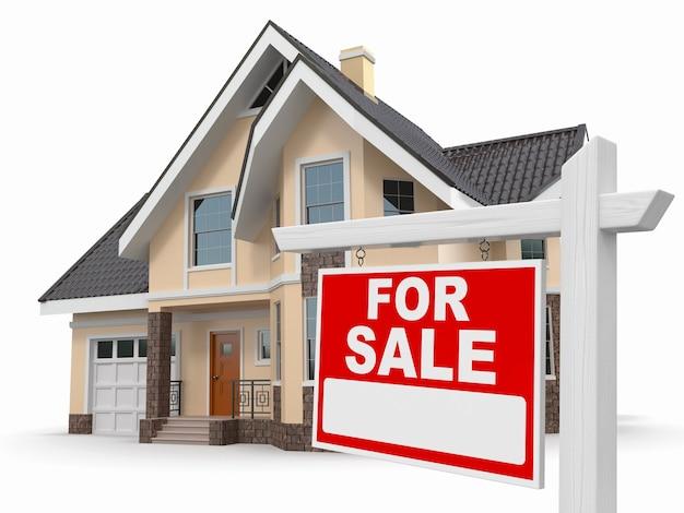 Casa en señal de venta