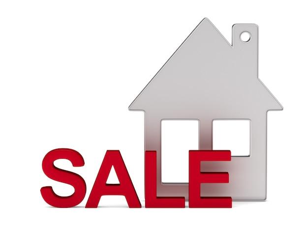 Casa en venta en blanco.