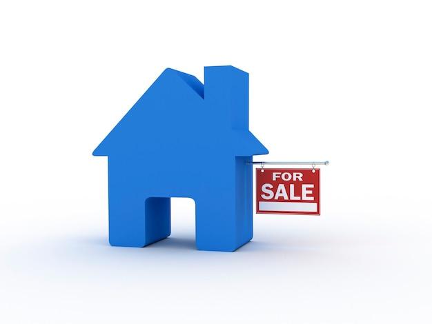 Casa en venta, render 3d