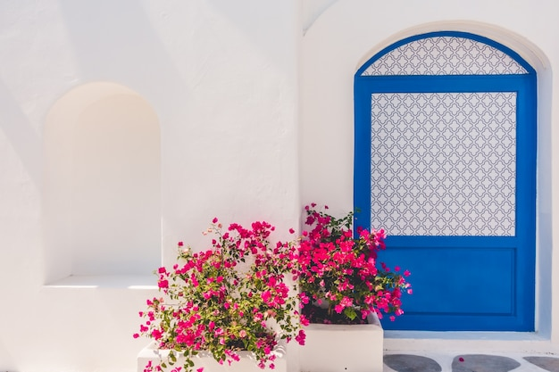 Casa de verano azul egeo grecia