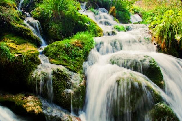 Cascada con efecto seda
